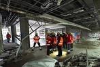 Fotos: Rettungshunde im Abrisshaus der Volksbank am Hauptbahnhof