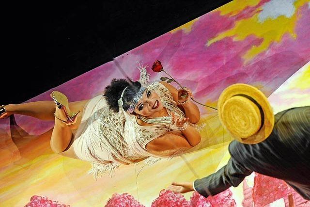 Turbulenter Spaß mit Rossini – und einem Spiegel