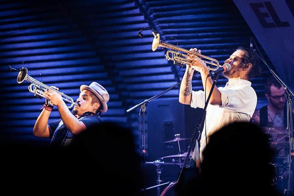 El Flecha Negra im Jazzhaus in Freiburg (Foto: FLORIAN FORSBACH)