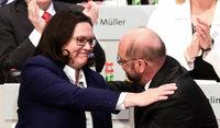 SPD mit 56 Prozent für Verhandlungen