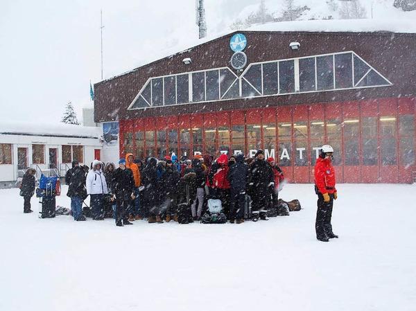 Zermatt ist weitgehend von der Außenwelt abgeschnitten.