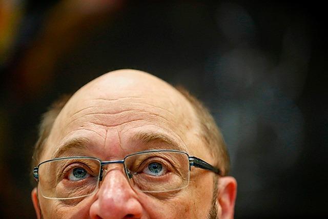 Martin Schulz zittert sich zum Sieg und entgeht nur knapp einer Blamage
