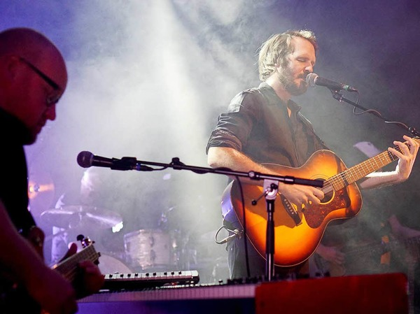 Ex-Wir-Sind-Helden-Mann Jean-Michel Tourette (links) begleitet Gisbert zu Knyphausen.