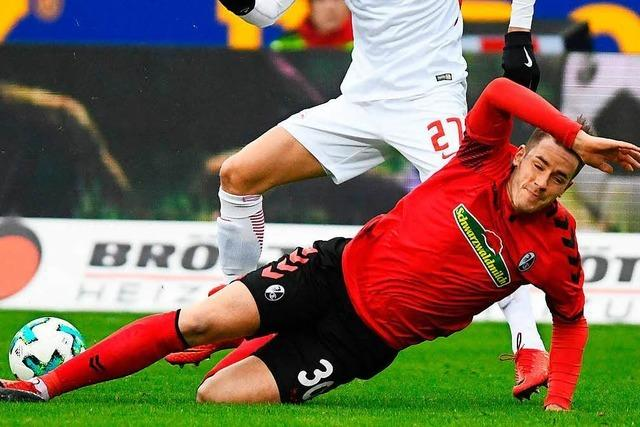 SC Freiburgs Christian Günter hat kein Verständnis für Aubameyang