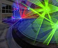 Lasershow in der Vita Classica Bad Krozingen