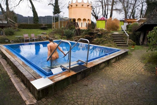 Im Freiburger Waldkurbad sind Sauna-Gespräche tabu