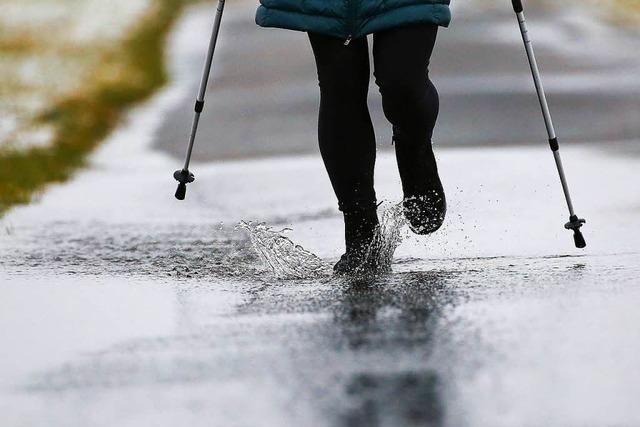 Tauwetter und Regen bringen dem Südwesten neues Hochwasser