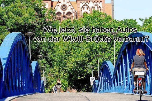 So entsetzt reagiert ein Amerikaner auf Freiburgs Straßen