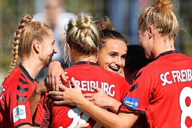 Lina Magull ist beim SC Freiburg die Passgeberin