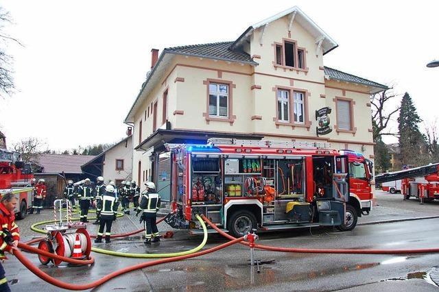 Brandursache Dachgeschoss Chabah: Kind hat mit Feuerzeug gespielt