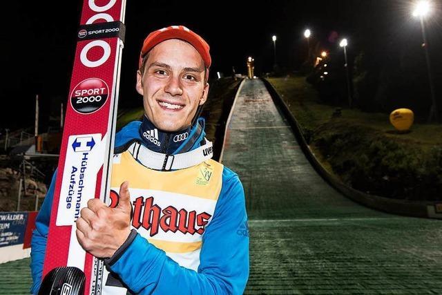 Skispringer Leyhe aus Breitnau reist erstmals zu Olympia