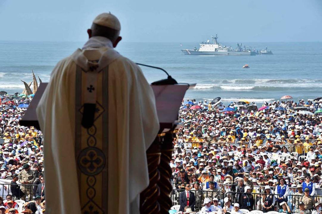 Papst Franziskus.  | Foto: dpa