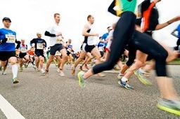 """Die """"fit'n'run"""" beim Freiburger Marathon"""