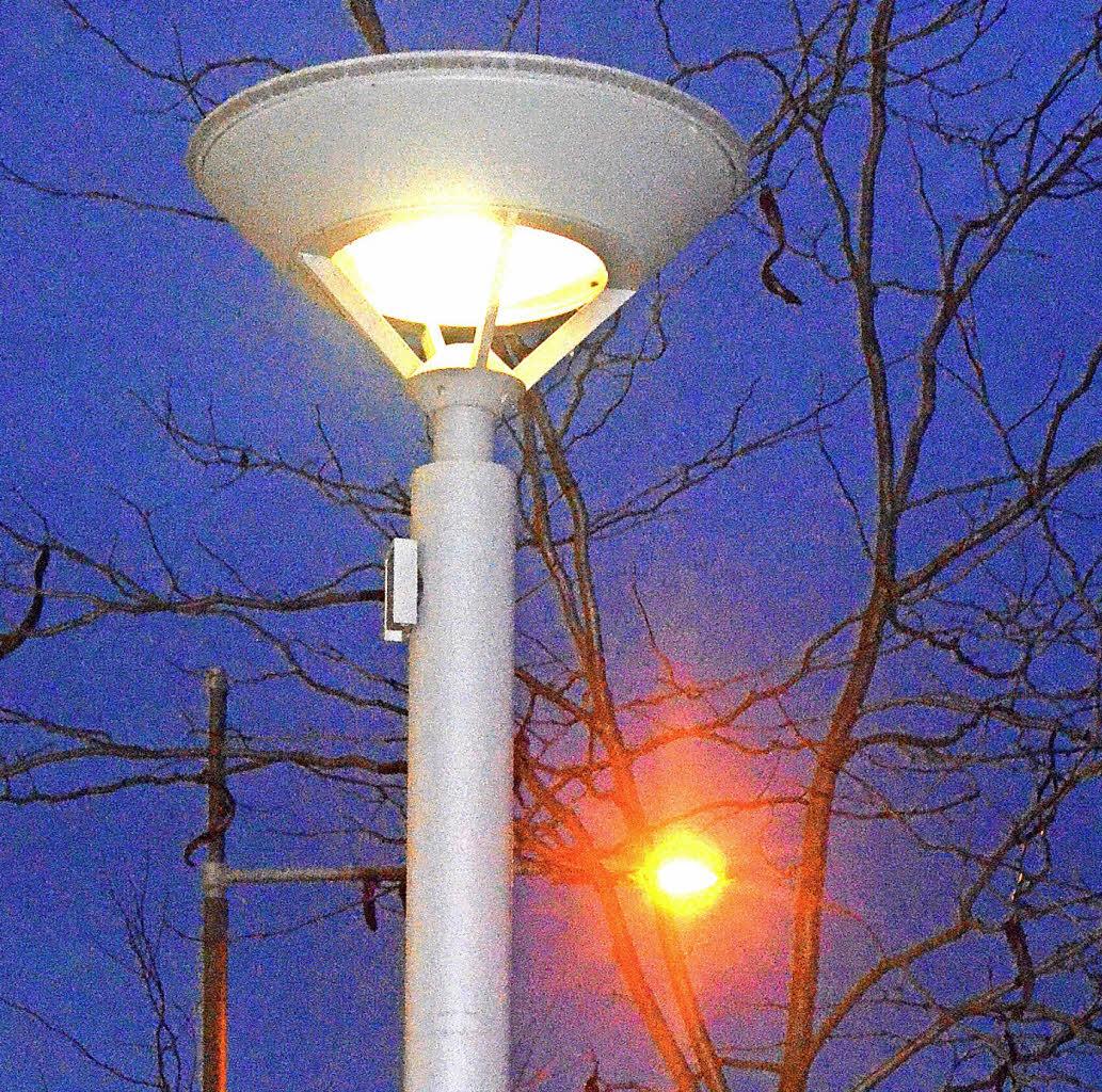 Nachts bleiben lampen aus kandern badische zeitung for Lampen freiburg