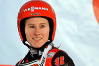 Skispringerin Ramona Straub freut sich auf Pyeongchang