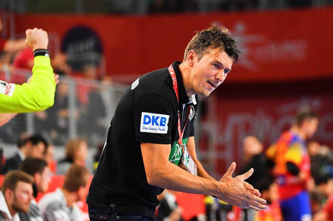 Bundestrainer Christian Prokop.  | Foto: dpa