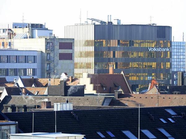 Abrissarbeiten an der Bismarckallee in Freiburg sind im vollen Gange.