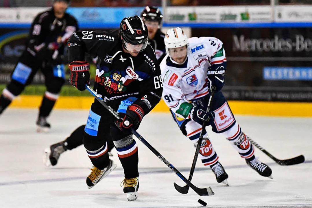 Spannung auf dem Eis    Foto: Achim Keller