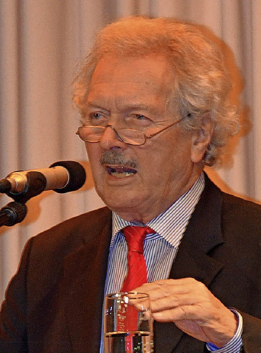 Professor Wolfram Wette aus Waldkirch.   | Foto: Sylvia Sredniawa