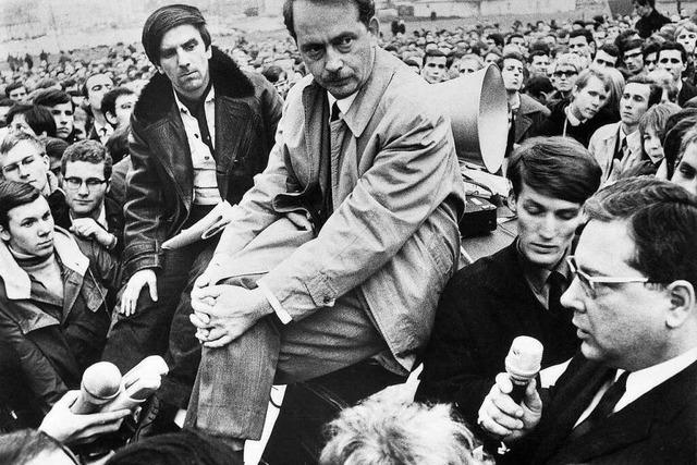 Revolte ante portas: Als Rudi Dutschke und Ralf Dahrendorf 1968 in Freiburg debattierten