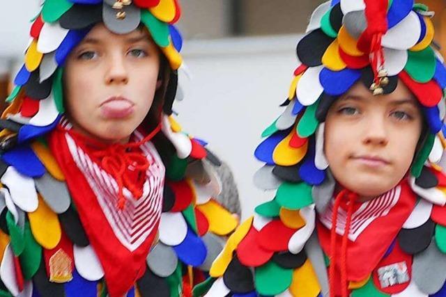Fotos: So bunt feiert Offenburg den 40. Narrentag