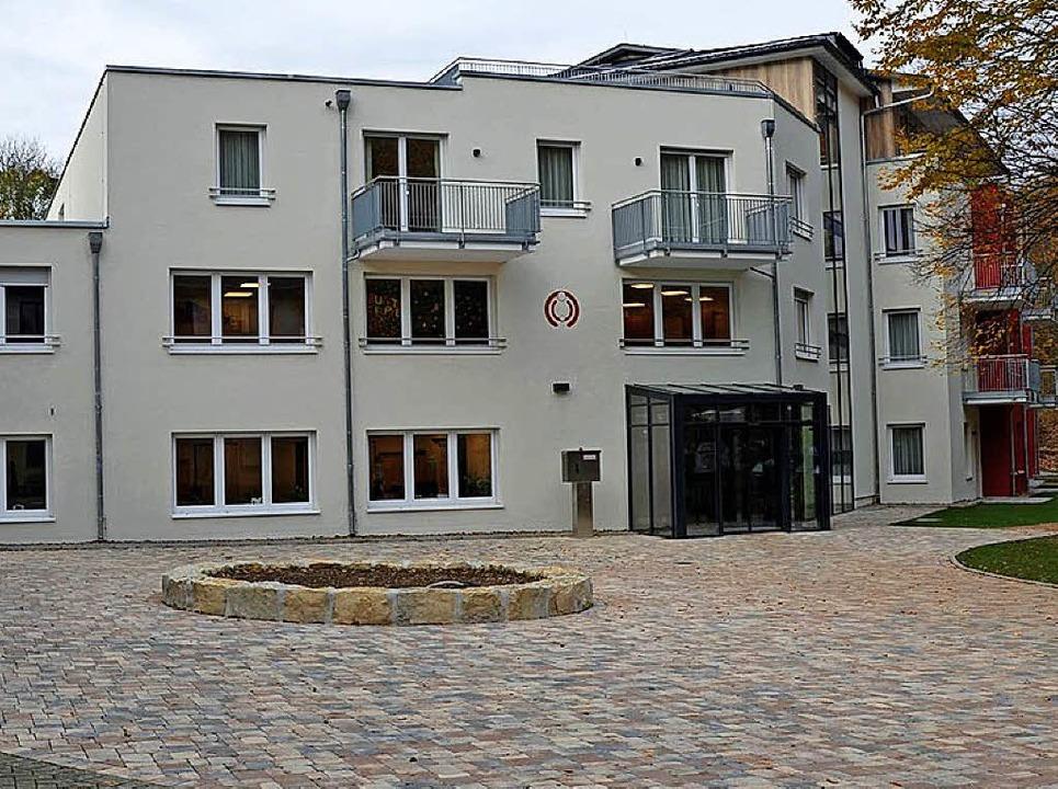 Der Neubau der Eltern-Kind Klinik Münstertal in Staufen.  | Foto: Familienhilfe