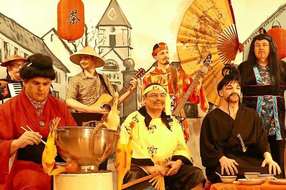 Bei den Brezele Buebe kam einem manches echt chinesisch vor. (Foto: Ulrich Senf)