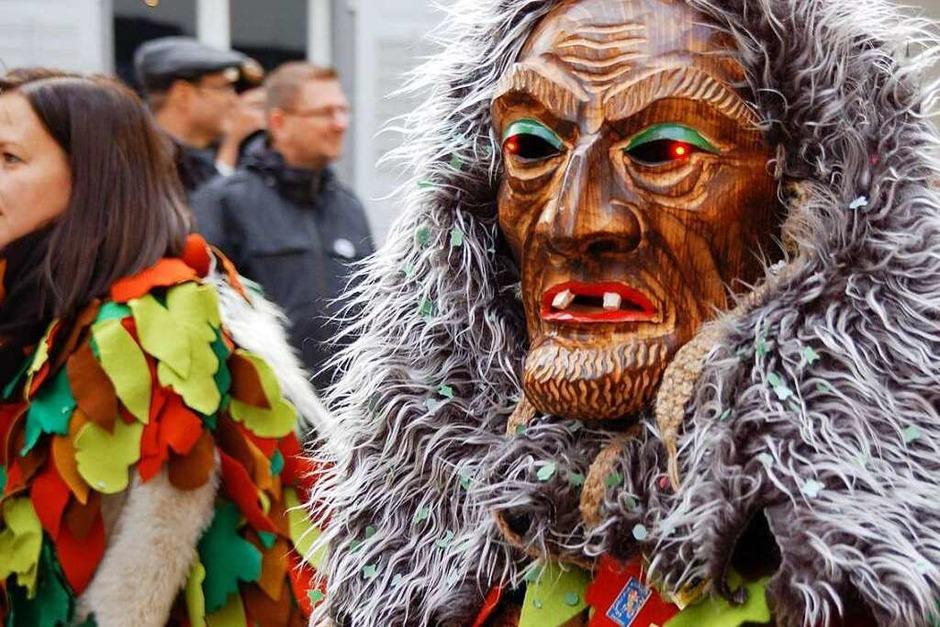 Narren zu Gast bei Freunden war das Motto des großen umzugs am Sonntag in Laufenburg. (Foto: Hildegard Siebold)