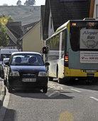 Damit der Verkehr in der Weinstraße besser fließt