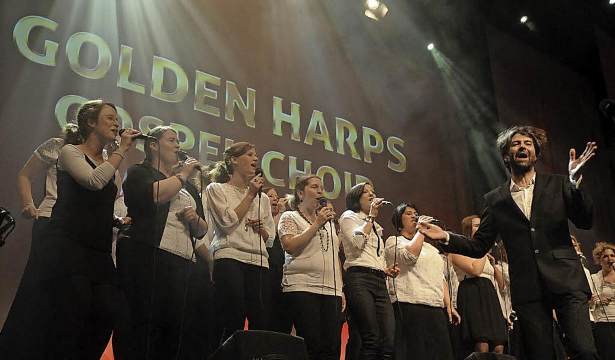 Die Golden Harps singen am Samstag in Kippenheim für den guten Zweck.   | Foto: Privat