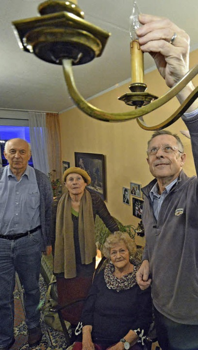 Für Joachim Muskalla (rechts) ist das ...eim mobilen Freiburger Altenservice.    | Foto: Michael Bamberger