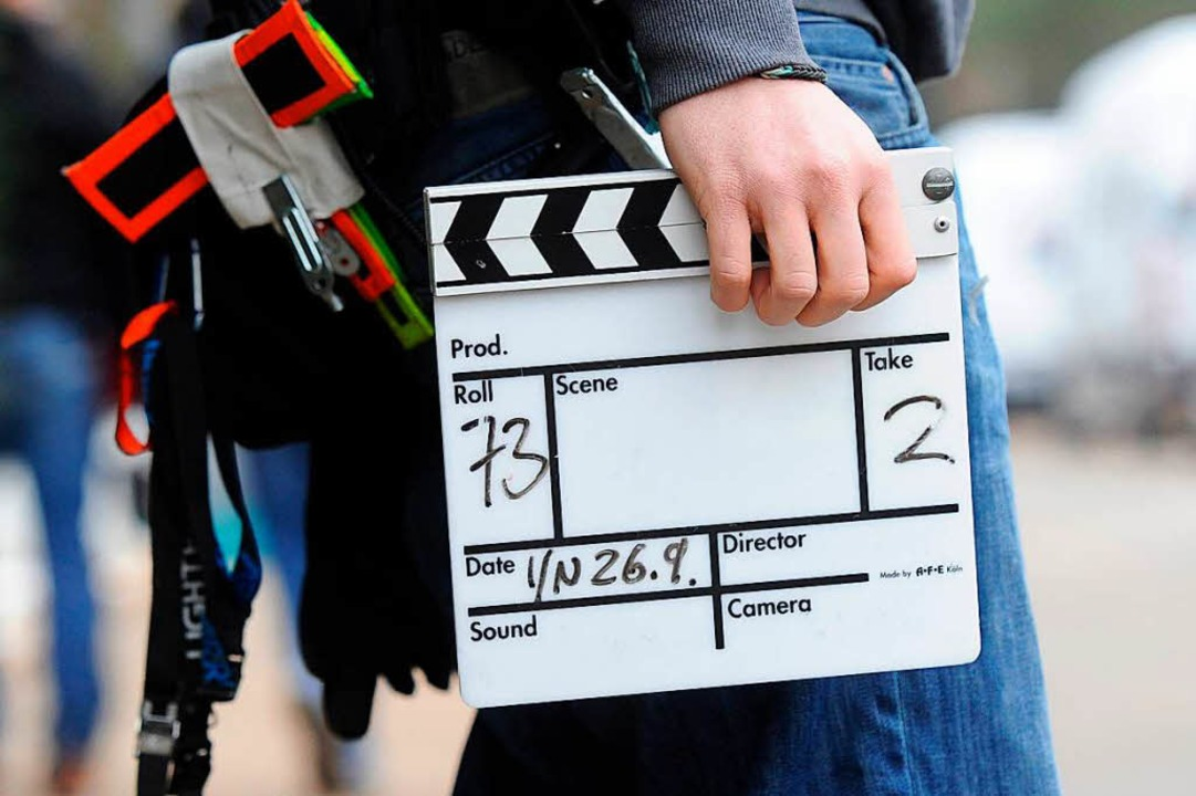 Noch sucht Jannis Alexander Kiefer Dre...n soll die Dreharbeiten aber losgehen.  | Foto: Tobias Hase