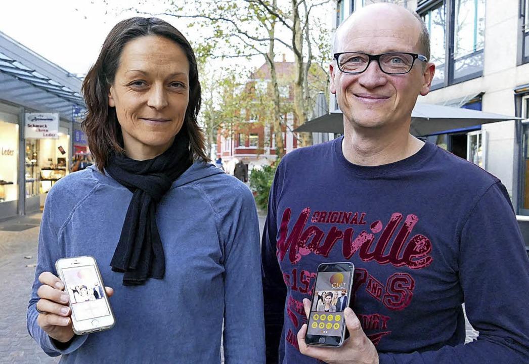 Martina und Markus Hug organisieren die Jobmesse.  | Foto: jannik jürgens