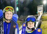 In Hinterzarten trainieren schon Fünfjährige Skispringen