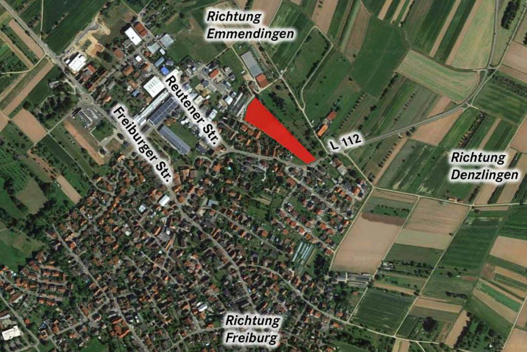 Baugebiet als Gemeinschaftsaufgabe: In...könnte es eine geeignete Fläche geben.    Foto: Google