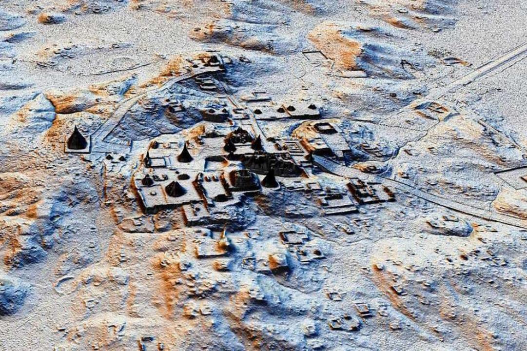 Eine Ausgrabungsstätte einer Maya-Stadt in Guatemala  | Foto: dpa
