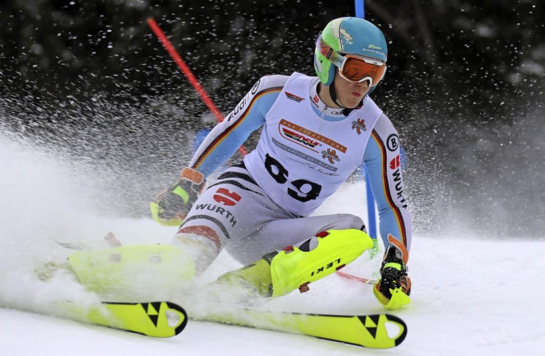 Zweimal Dritter ergab Gesamtvierter &#...r  die beste Platzierung des Winters.     Foto: H.-Wiesler