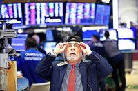 An der Börse geht's abwärts