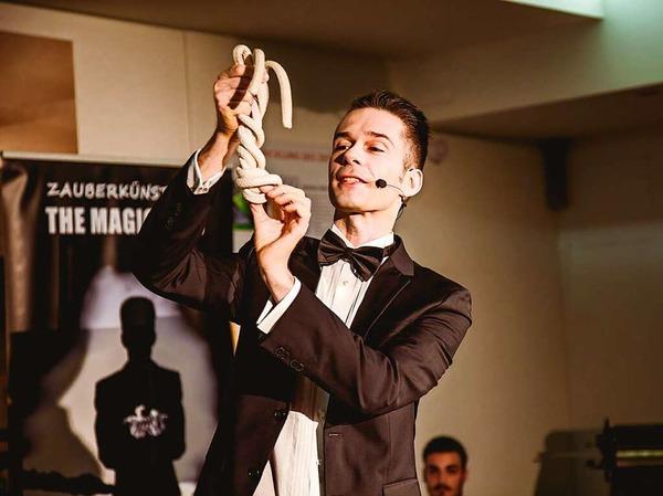 The Magic Man: Willi Auerbach bei fudders Clubcafé im BZ-Museum