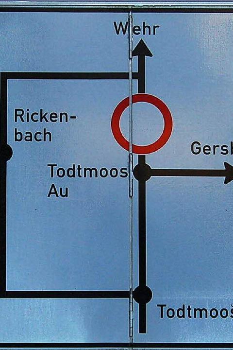 Die L148 zwischen Wehr und Todtmoos ist wieder komplett gesperrt.     Foto: Hans-Dieter Folles