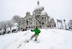 Fotos: Schnee in Paris