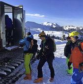 FLUCHTPUNKT: Skifahrerische Glückseligkeit