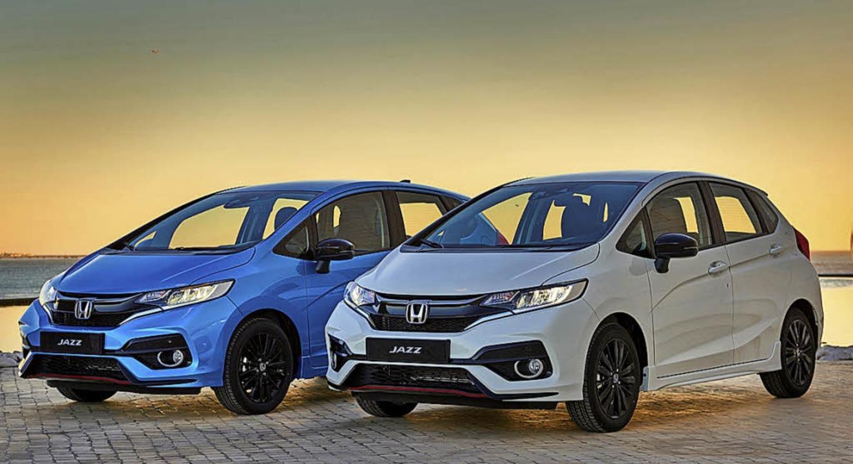 Die Front wurde der aktuellen Formensprache  der Honda-Familie angepasst.   | Foto: werksfoto
