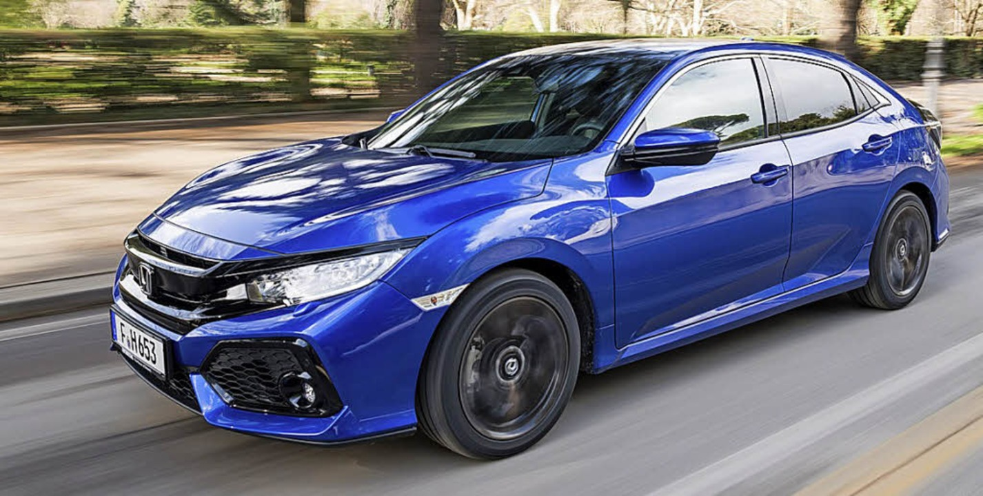 Flink und sparsam fährt der Civic mit dem neuen Selbstzünder.  | Foto: Honda