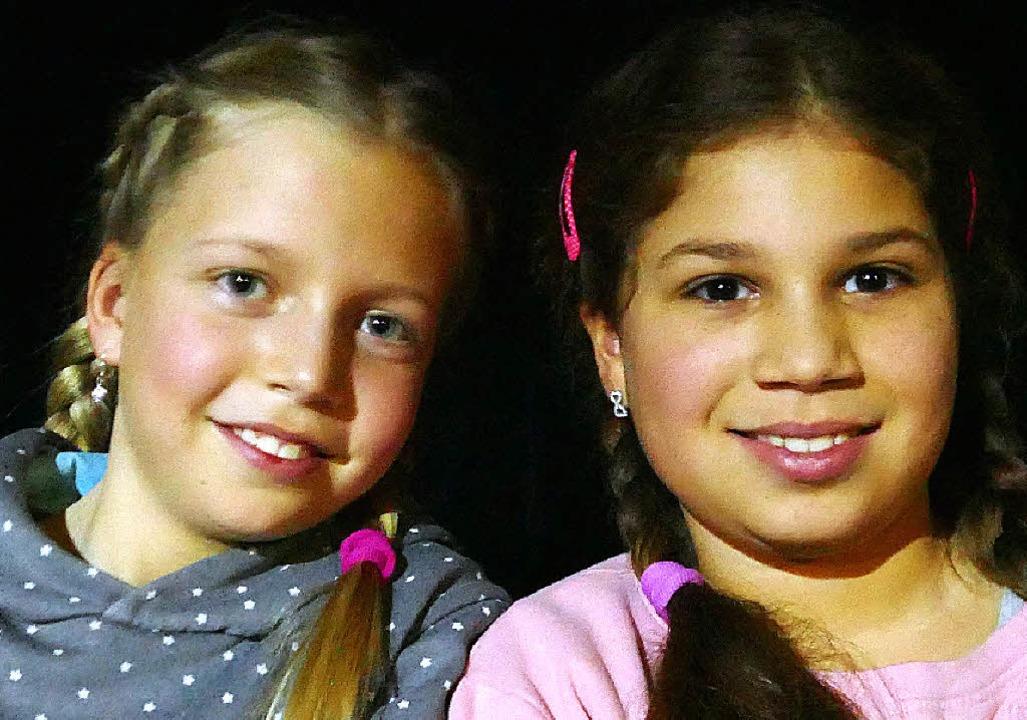 Greta (links) und Lia   | Foto: BZ