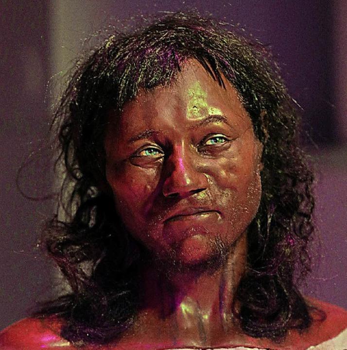 "Eine Nachbildung des ""Cheddar Man""   | Foto: dpa"