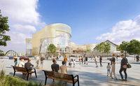 Einkaufszentrum Dreiländergalerie erhält Teilbaugenehmigung