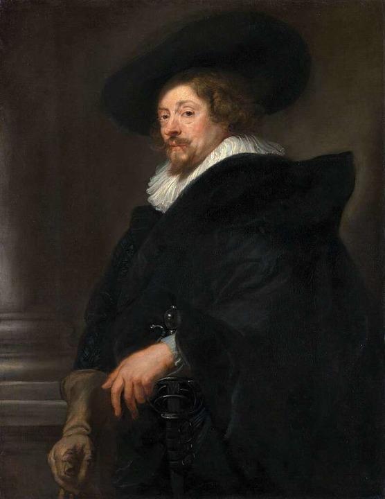 So hat er sich selbst gemalt: der Maler Peter Paul Rubens  | Foto: KHM-Museumsverband