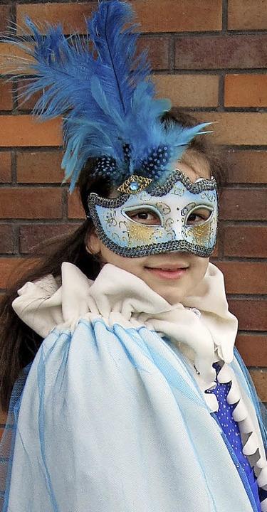Camilla Favaloro im venezianischen Kostüm   | Foto: Oppold