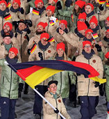 Tanzen für den Frieden und gegen die Kälte